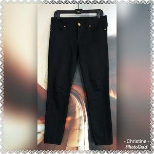 *Tory Burch Ankle Zipper Super Skinny Jeans*